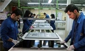 نخستین خط تولید تلویزیون ال.ای.دی 75 اینچ در ایران افتتاح شد