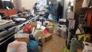 تأمین لوازم خانگی مورد نیاز زلزله زدگان استان کرمانشاه با قیمت پایینتر از کارخانه